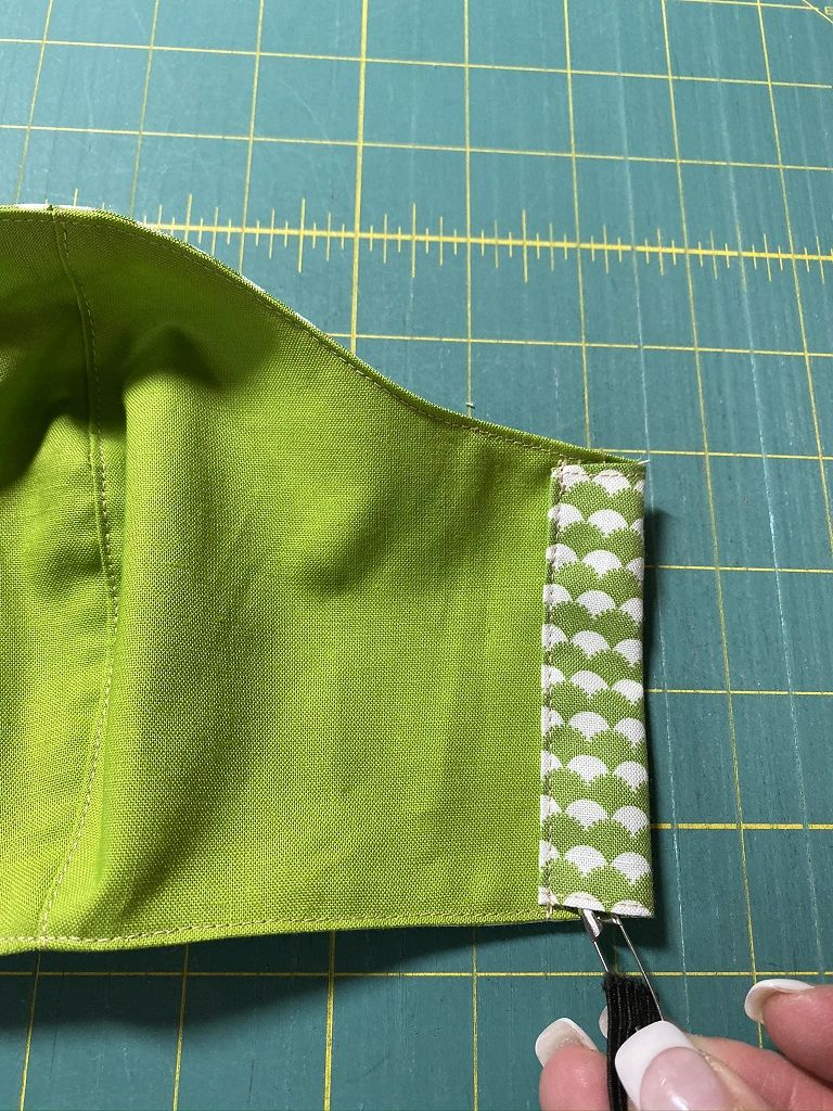 Photo of Easy to sew Face Mask: fast and comfortable! – Pieced Brain