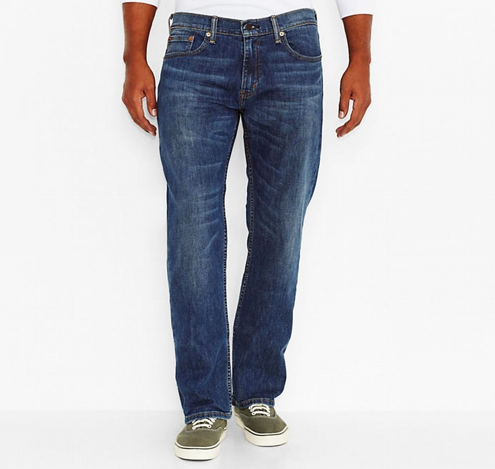 Levis 559 Relaxed Straight Denim Jeans 60 x 32 Steely Blue 01559 ...