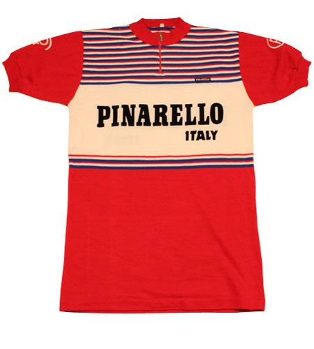 70 s vintage PINARELLO cycle jersey made in Italy  91931fa92