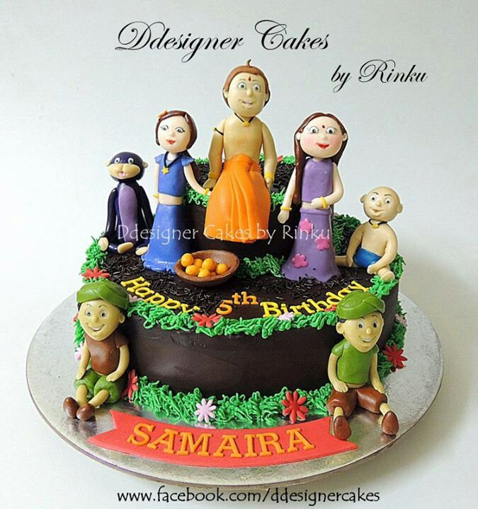 Chota Bheem Images For Birthday Cake : Chota Bheem Cakes Cakes Pinterest Cake, Fondant and Food