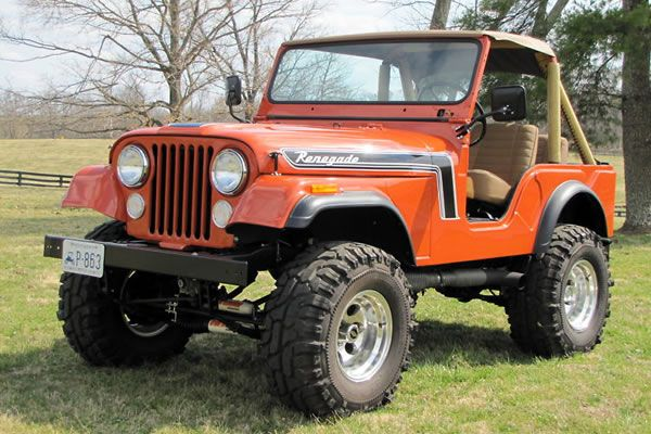 Orange 1975 Cj 5 Jeep Cj Jeep Cj5 Jeep Cj7