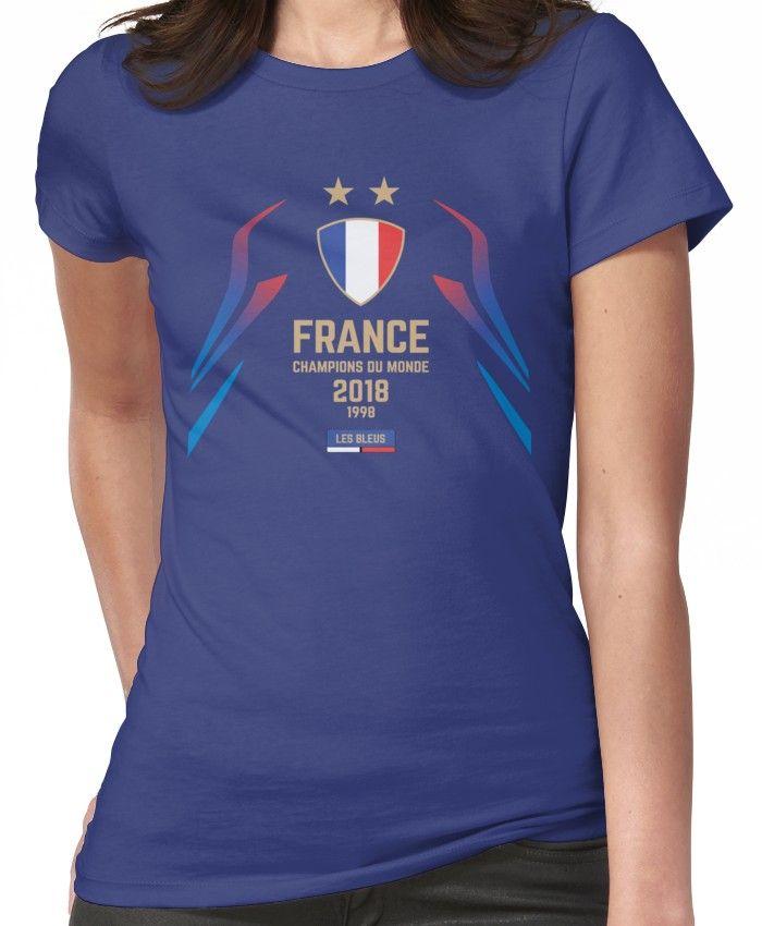 France Champion Du Monde 2018 Les Bleus Football World Cup