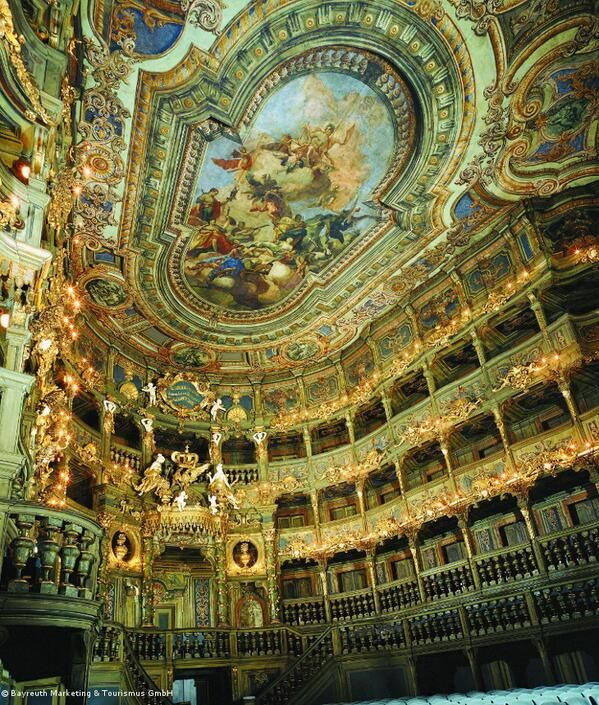 #Bayreuth's Margravial Opera House Is The Most Beautiful