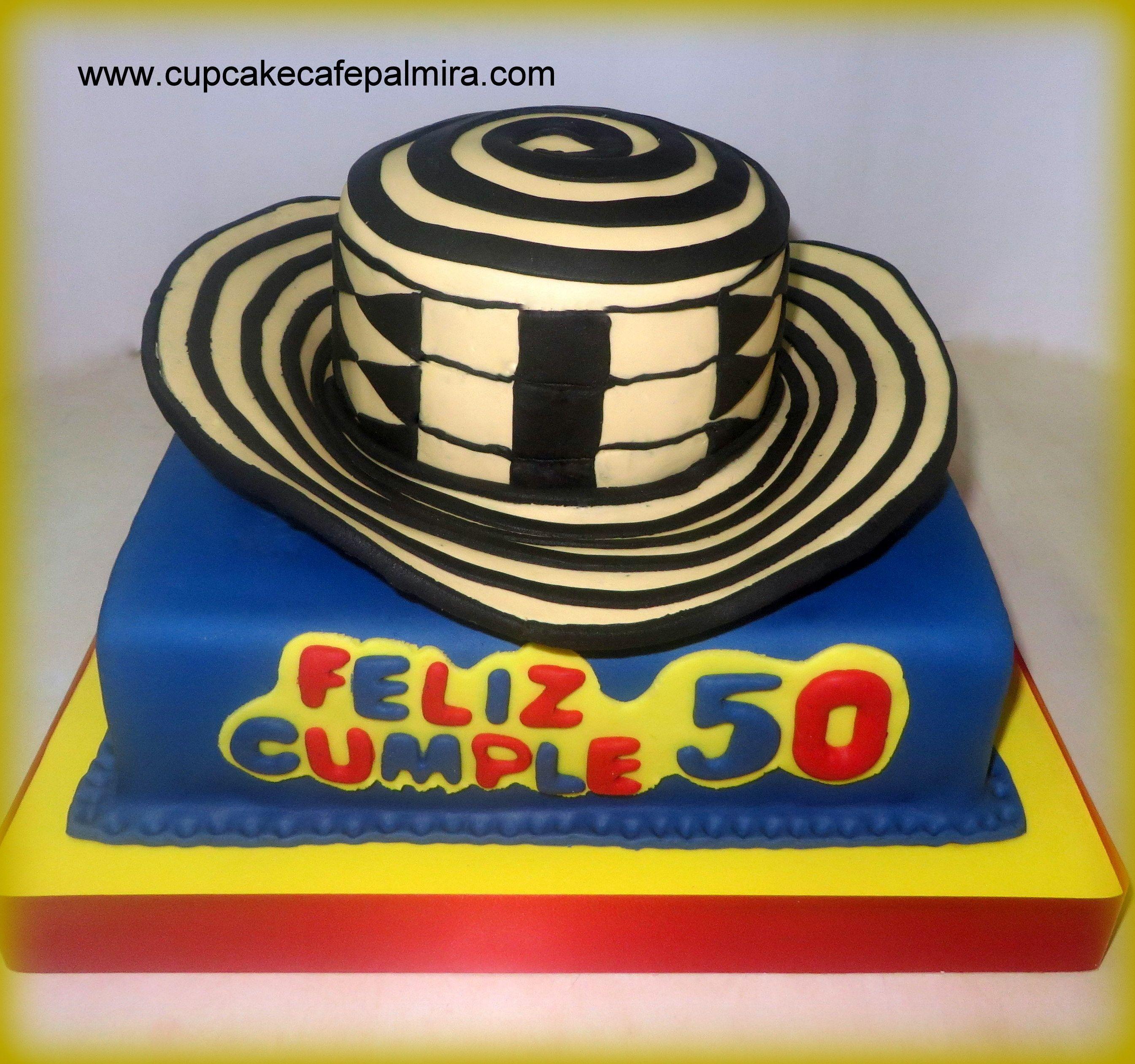 Torta Sombrero Vueltiao Colombia  97186a407bd