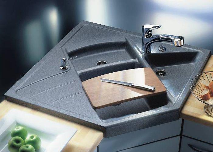 Blanco Modus M90 Eckspüle | Küche | Pinterest | Küche, Spülbecken ... | {Eckwaschbecken küche maße 44}