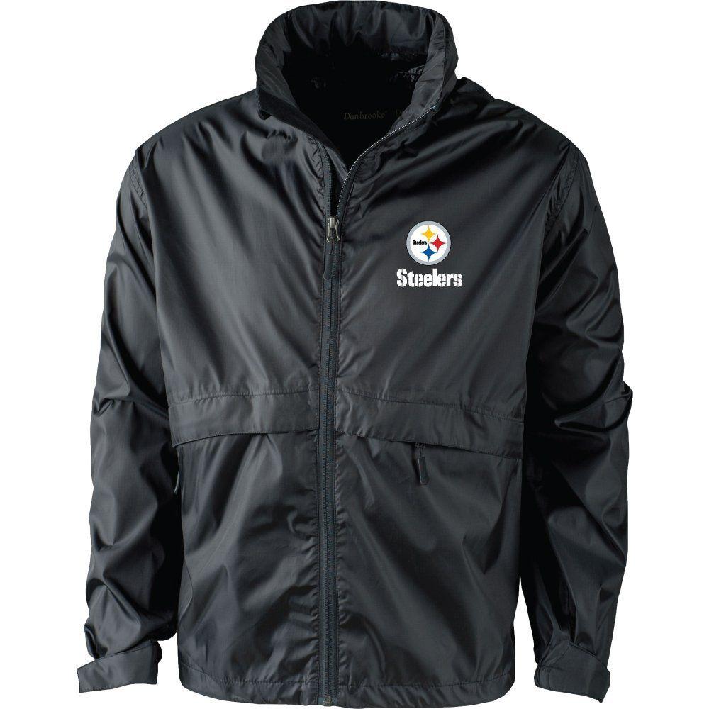 the latest ecf10 e7811 Amazon.com : NFL Men's 5490 Sportsman Waterproof windbreaker ...