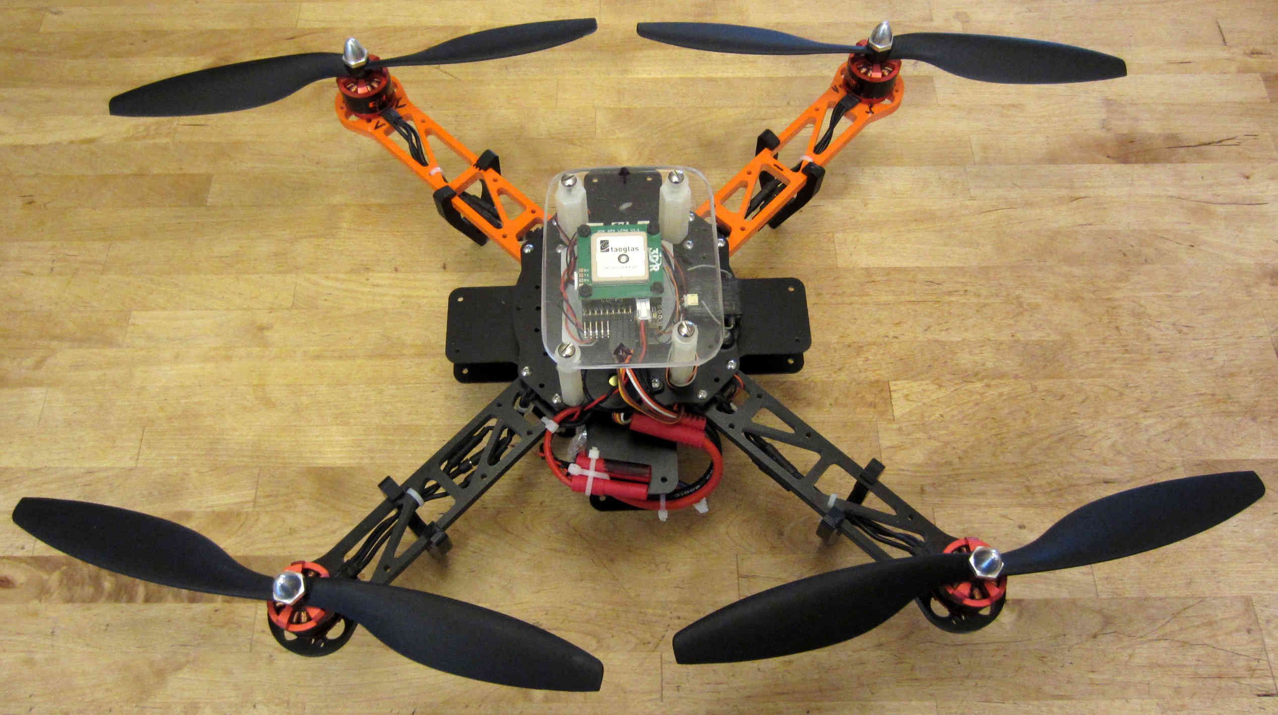 how to make a drone for school project
