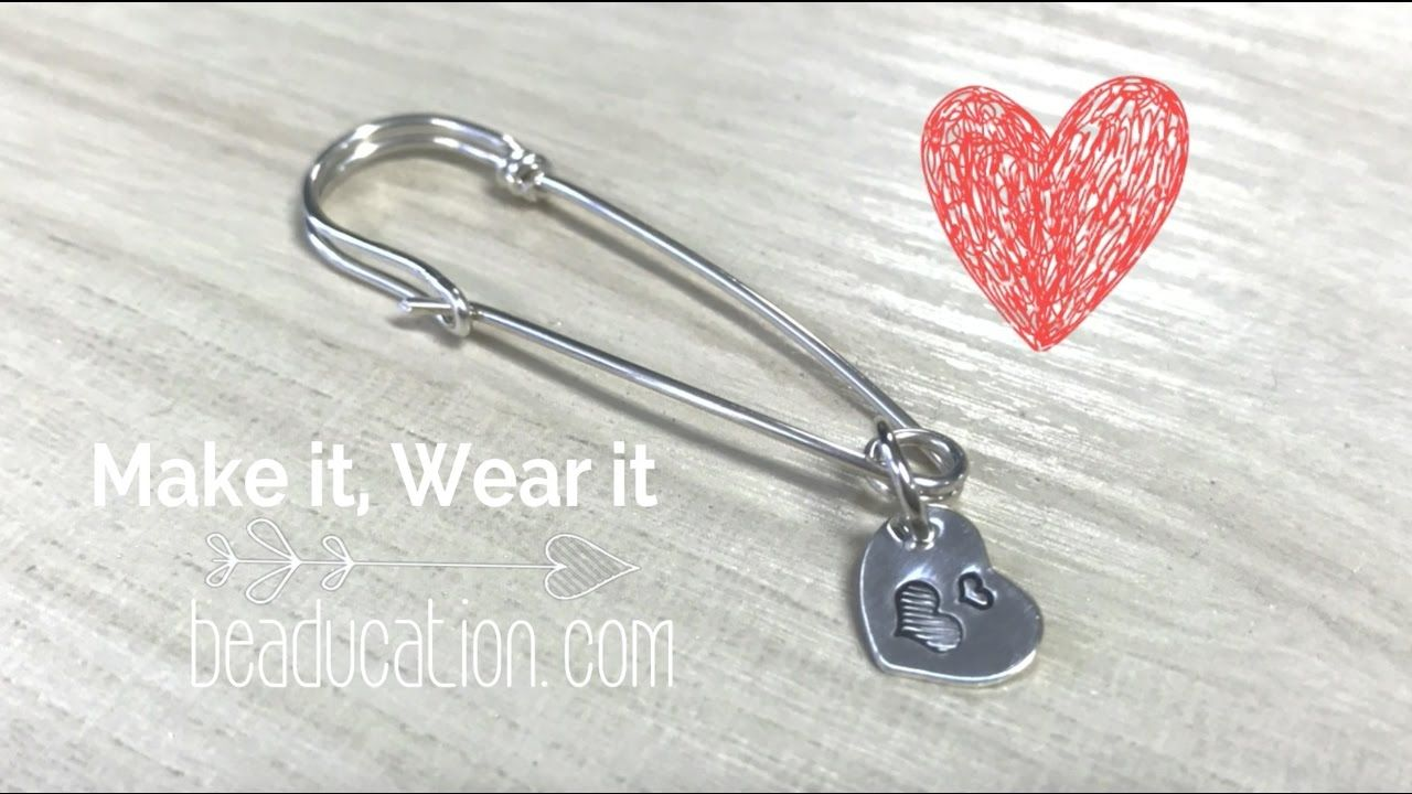 Learn for free with this How to Make a Wire Safety Pin - Tutorial ...