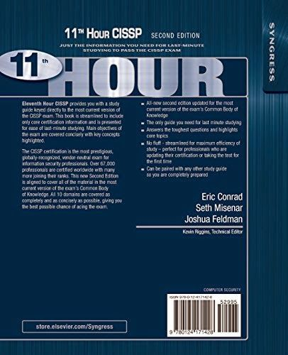 Cissp study guide second edition ebook array get free download ebooks eleventh hour cissp second edition study rh pinterest com fandeluxe Gallery