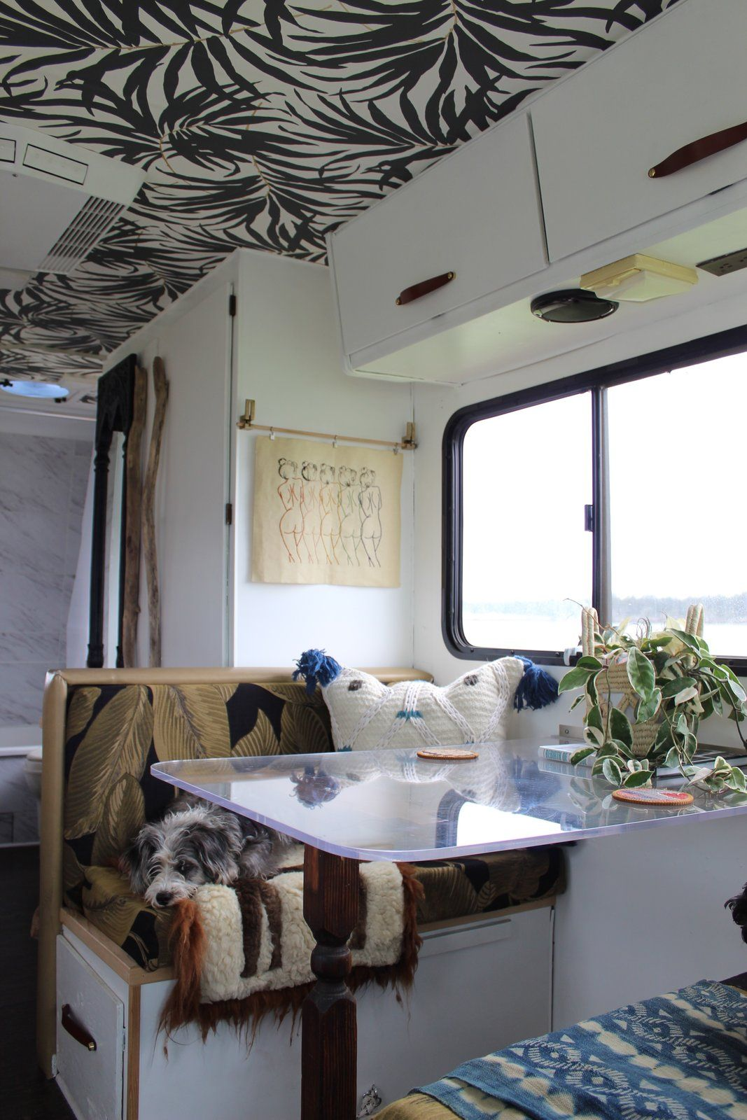 A Portland Couple Renovate A 1982 RV, Turning It Into Their New Home