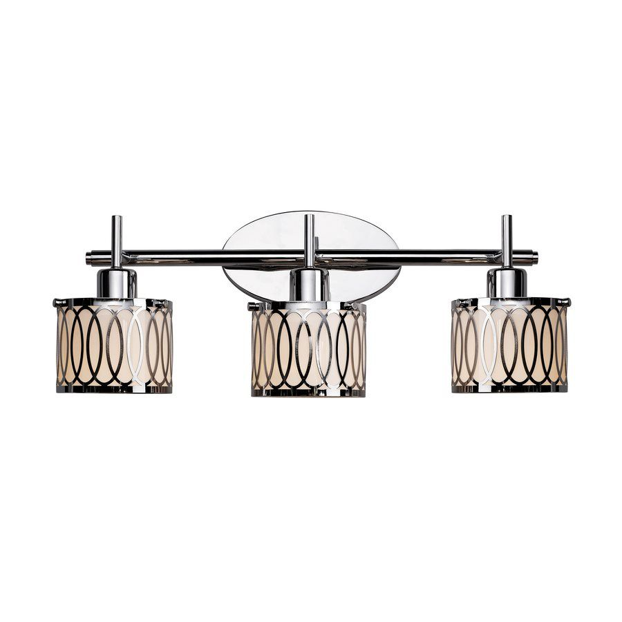 $89.99 X3 Lowes One for each washroom Bel Air Lighting 3-Light ...