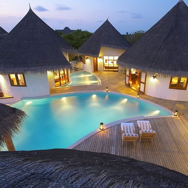 Maldives Luxury Homes: Would Make A #beautiful Big Family #farm #house