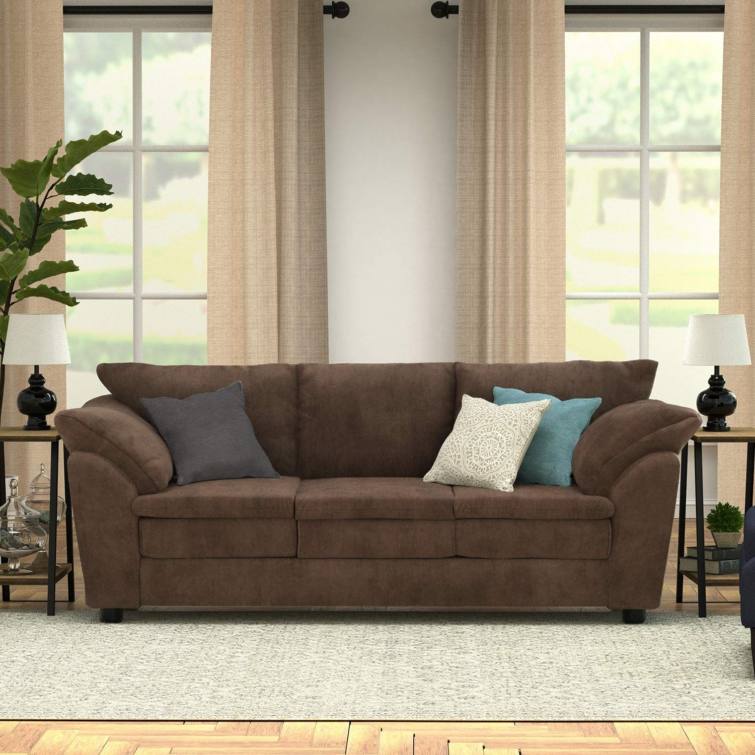 9 Brown Sofas You Can Shop For Less Than 700 With Images