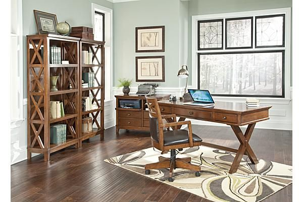 Bon The Burkesville Home Office Desk From Ashley Furniture HomeStore  (AFHS.com). With