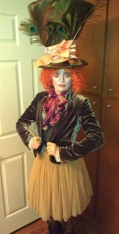 Homemade mad hatter costume ideas homecoming float pinterest mad hatter homemade costumes for women solutioingenieria Gallery