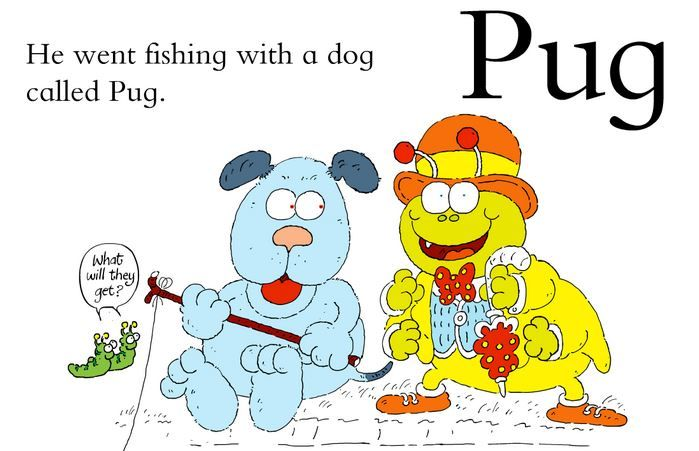 Zug the Bug going fishing with Pug