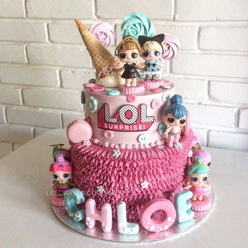 LOL Surprise Dolls Birthday Cake LOL Surprise Party Ideas in 2018
