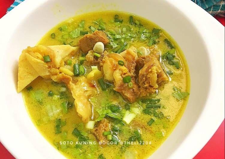 Resep Soto Kuning Bogor Oleh Theresia Linda Resep Resep Makanan Rebusan
