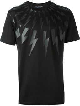 18da6244b34752 lightning bolt T-shirt | T-shirts in 2019 | Designer clothes for men ...
