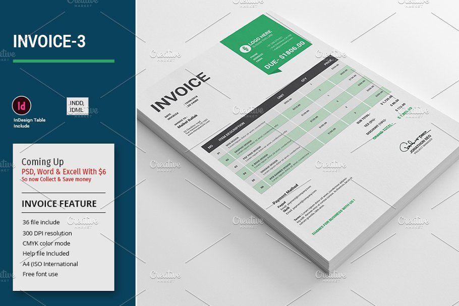 Invoice Template Big Bundle 1 In 2020 Invoice Template Templates Brochure Template