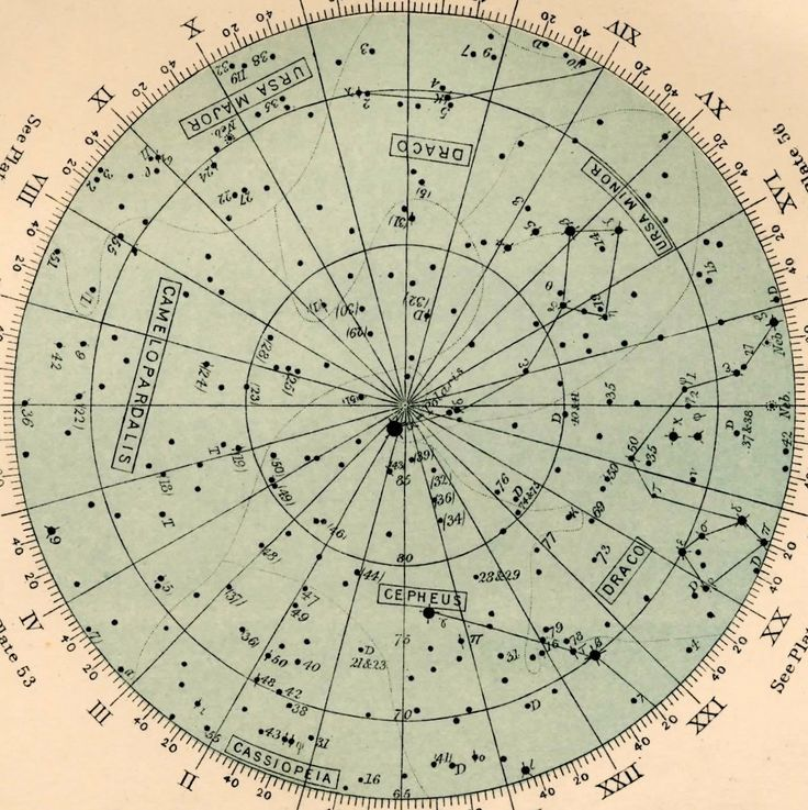Astrology And Star Charts Star Chart Star Constellations