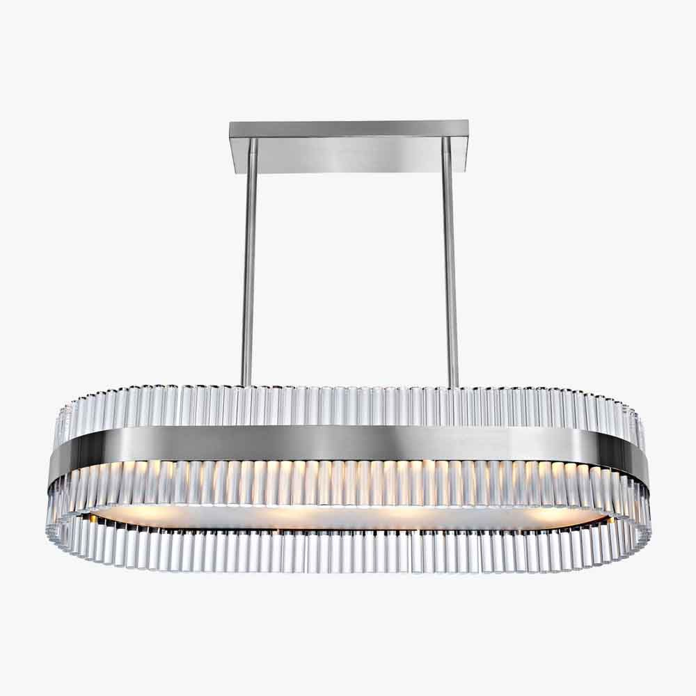 Curzon street rectangular chandelier ceiling lights bella figura