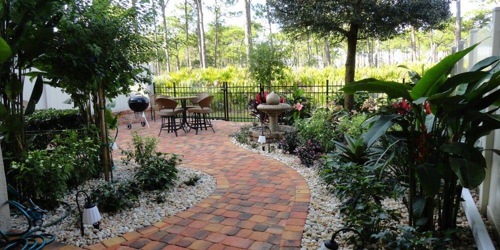 Florida Landscape Design Ideas: Courtyard Features | Melbourne ...