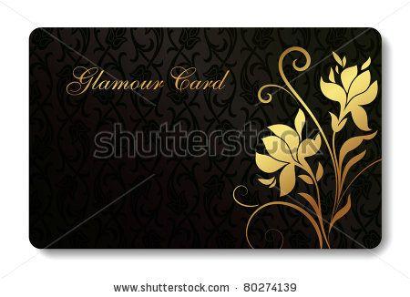 Credit Card Business Card Background Design Of Standard Size