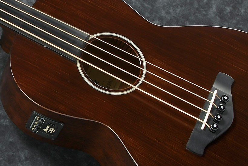 Ibanez Introduces Compact Acoustic Electric Basses Acoustic Electric Electric Bass Acoustic