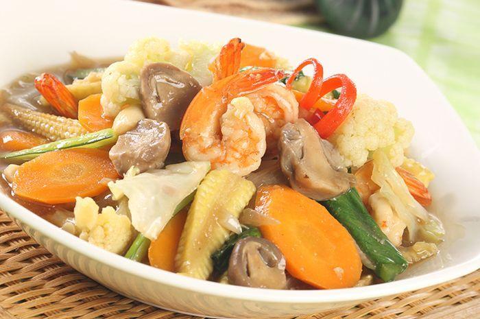 Resep Capcay Kuah Seafood