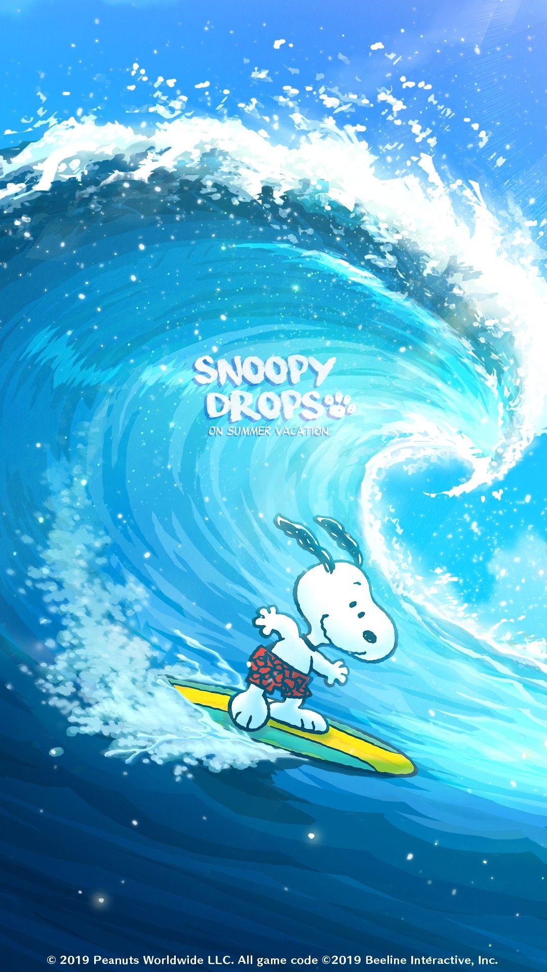 Snoopy スヌーピー Surf スヌーピーの壁紙 スヌーピー