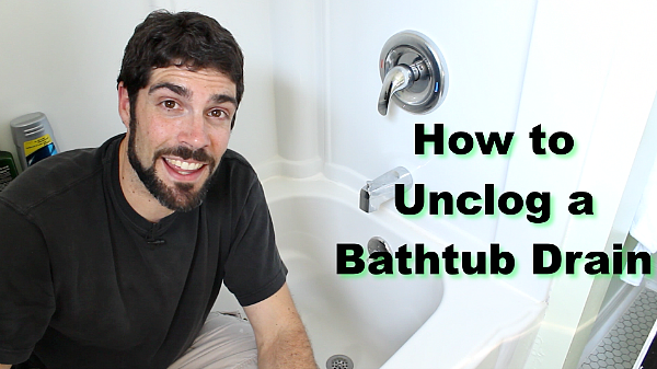 How To Unclog A Bathtub Drain The Easy Way With Images