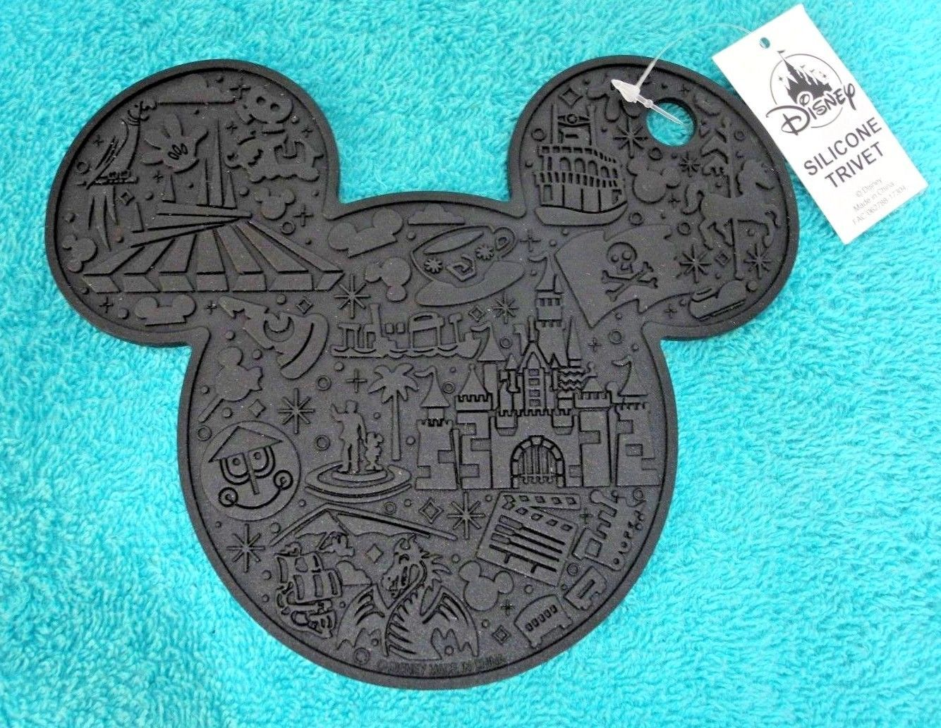 DISNEY PARKS Mickey Silicone Hot Pad Kitchen Trivet B   $15.59. Disney  Parks Mickey Mouse
