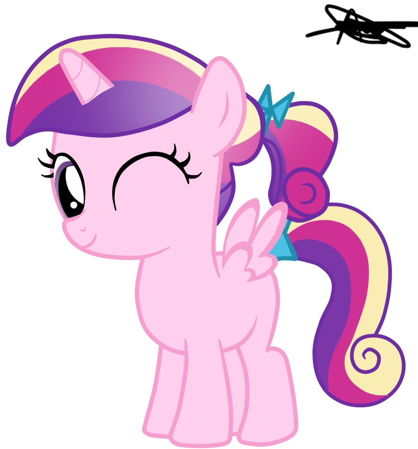 Princess cadence filly version 2 by andreamelody on - Princesse poney ...