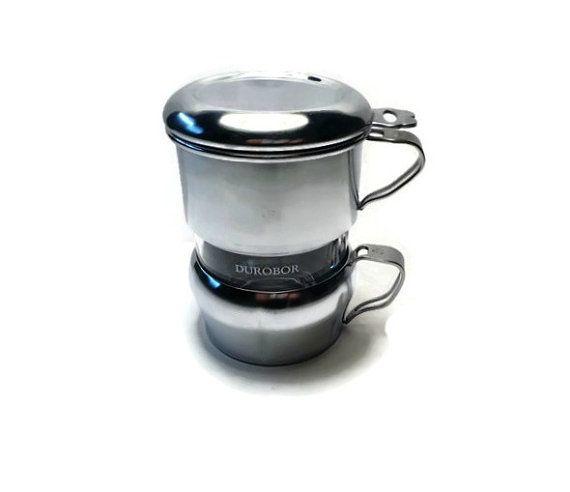 Vintage Coffee Drip o Lator . Single Cup Coffee Maker . One Cup Coffee Filter . Drip-O-Lator