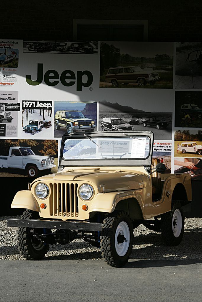 Jeep Cj5 1955 Jeeps N Jeeps 4x4 Jeeps Things Cj5 Del 4x4 S