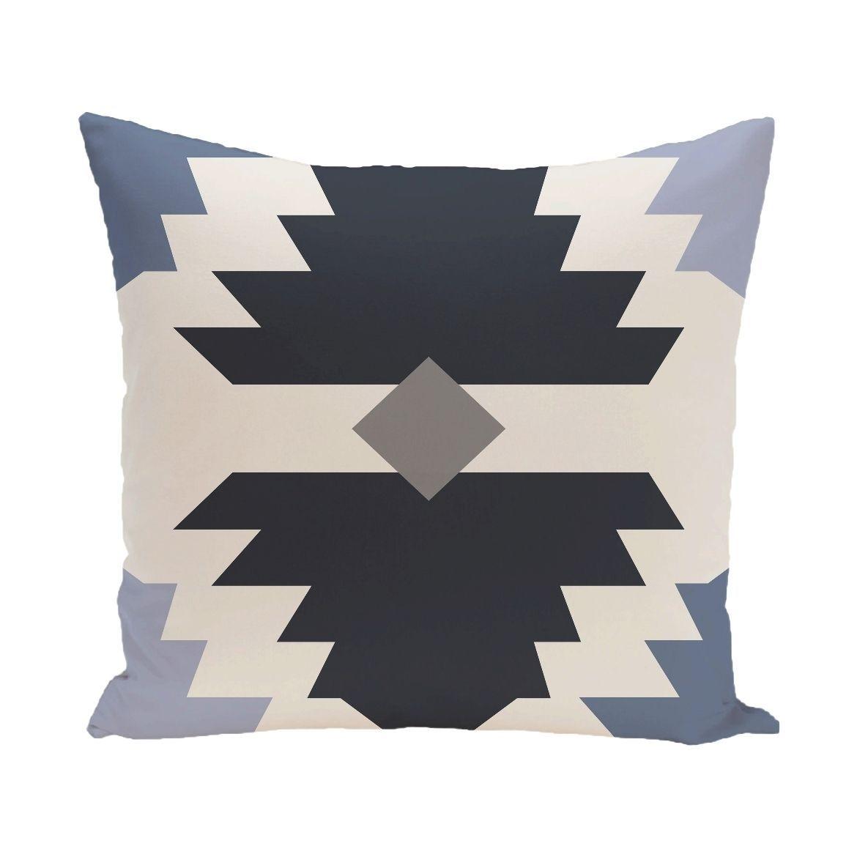 Mesa geometric print xinch floor pillow by e by design floor