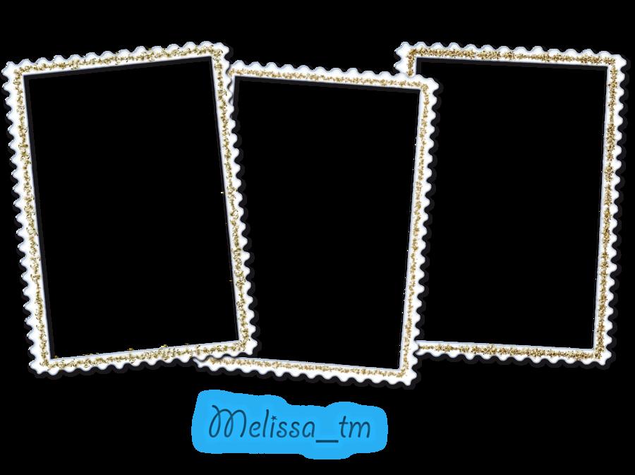 Three White Frames Png By Melissa Tm On Deviantart White Frame Frame Clip Art
