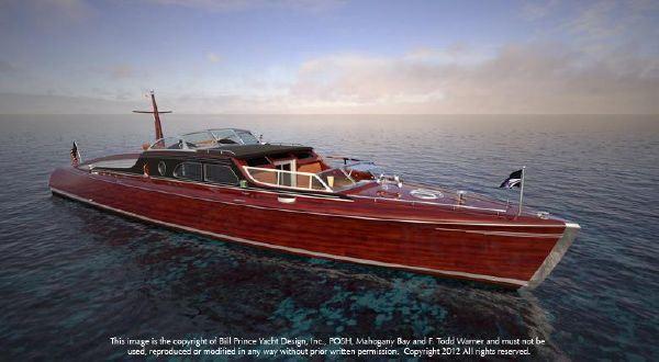 54′ Brooklin Boatyard POSH #Woodenboat