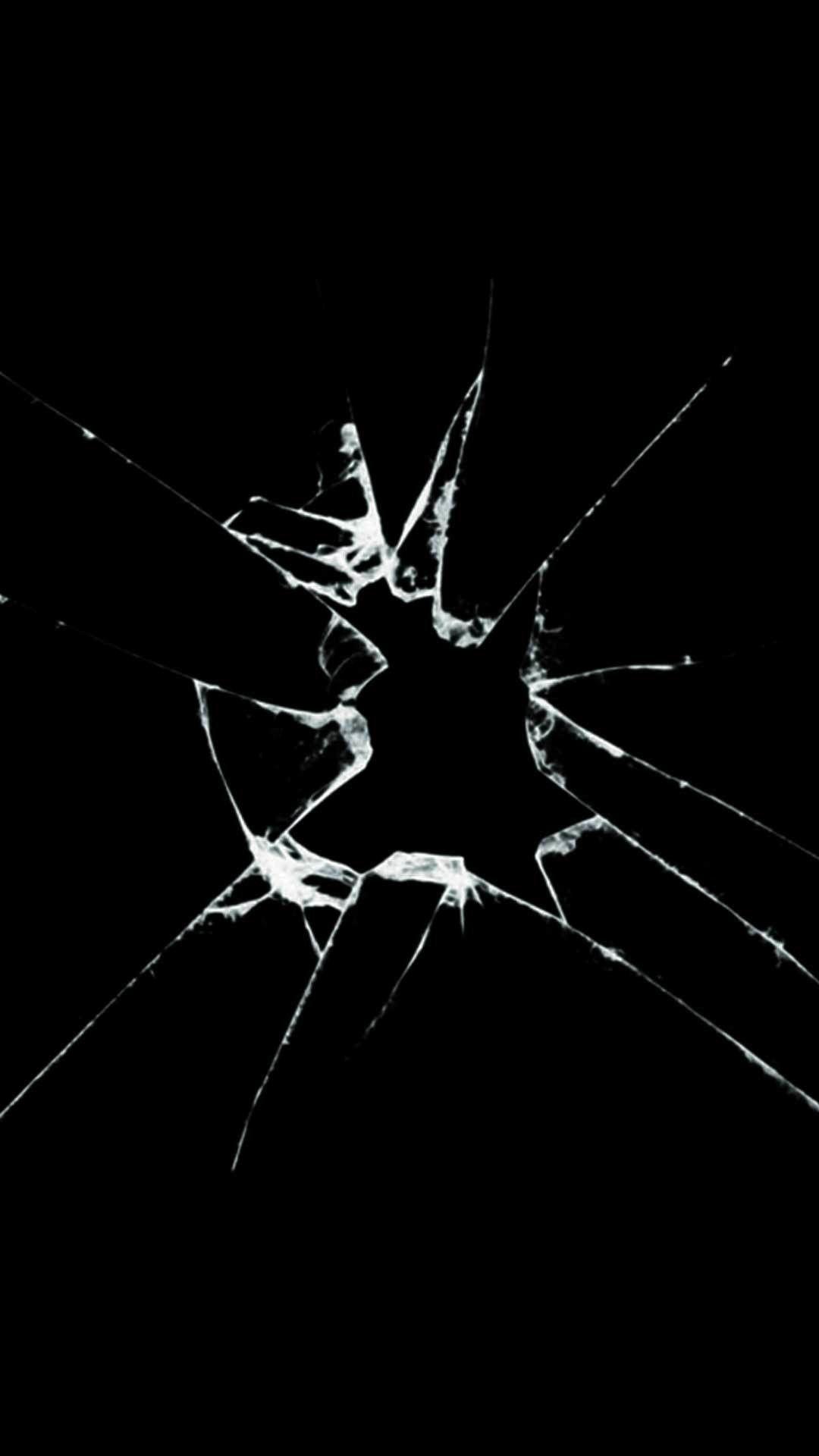 Realistic Broken Screen Wallpaper Android In 2020 Broken Screen Wallpaper Cracked Phone Screen Screen Wallpaper Hd