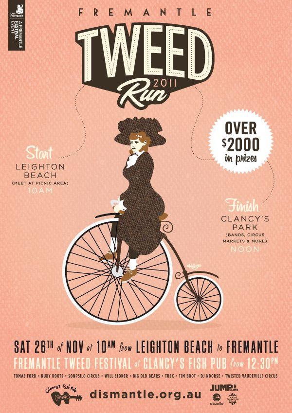 Tweed Run poster