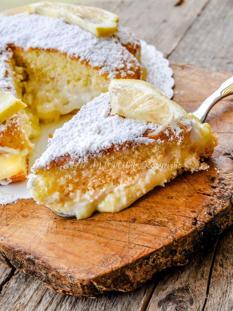Torta al limoncello e mascarpone | Ricetta | Dolci, Limoncello e ...