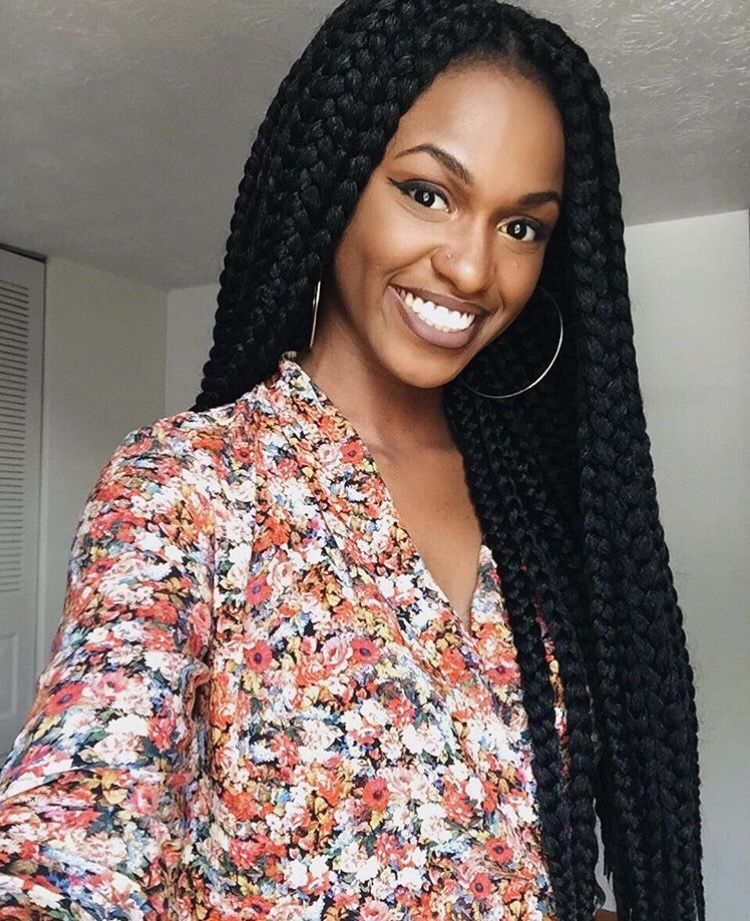 O R O R O - braidsforblackgirls: Crochet braids on... | box braids ...