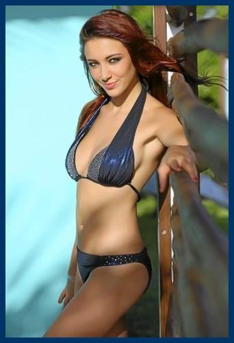 Delphine Wespiser _ Photoshoot _ Bikini