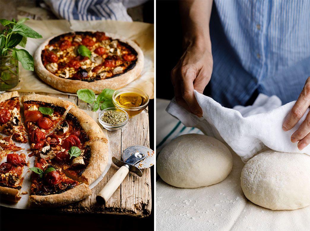 Cómo Hacer Masa De Pizza Casera Y Fácil Paso A Paso Receta Masa Para Pizza Masa De Pizza Casera Pizza Casera