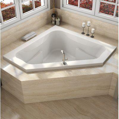 Jacuzzi Signature 60 X 60 Drop In Bathtub In Whirlpool Bathtub Finish Oyster Drop In Bathtub Whirlpool Bathtub Drop In Tub