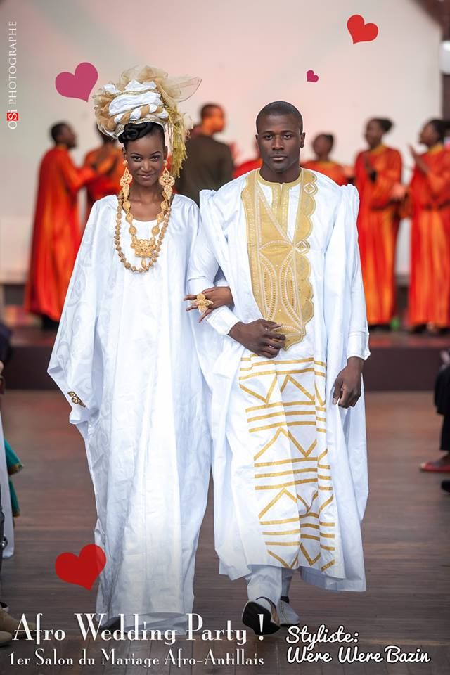 Bekannt Défilé Were Were Bazin à l'Afro Wedding Party ~African fashion  JJ79