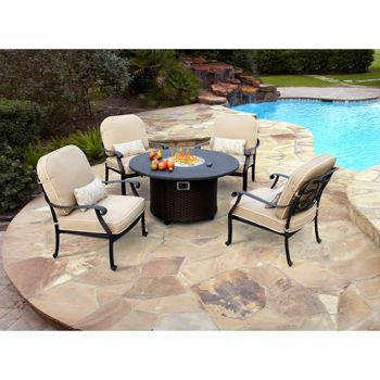 Costco San Paulo 5 Piece Fire Chat Set