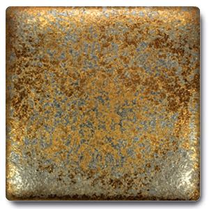 Spectrum 1114 Metallic Gold Rain Glaze This is a glaze for pottery
