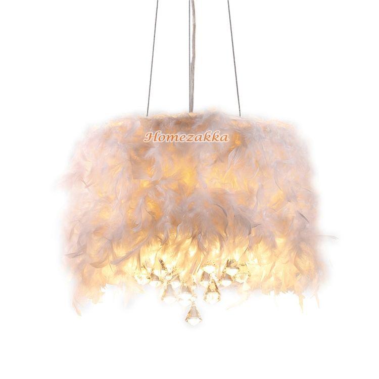ペンダントライト 天井照明 照明器具 インテリア照明 クリスタル 羽